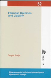 Fairness opinions and liability