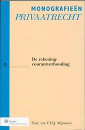 Monografieen Privaatrecht De rekening-courantverhouding