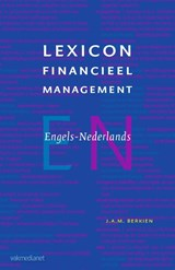 Lexicon Financieel Management | J.A.M. Berkien |