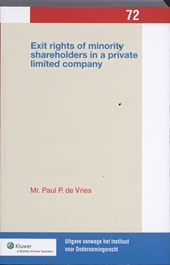 Exit rights of minority shareholders in a private limited company