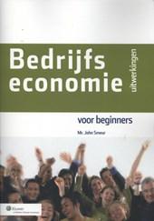 Bedrijfseconomie voor beginners, uitwerkingen