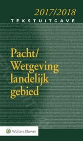 Tekstuitgave Pacht/Wetgeving landelijk gebied