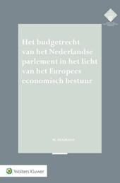 Het budgetrecht van het Nederlandse parlement in het licht van het Europees economisch bestuur