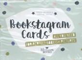 Bookstagram Cards - SET VAN 4 Must-have kaarten voor het maken van een perfecte bookish Instagram foto
