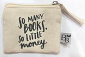 So many books, so little money (size small) per 8 stuks