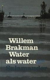Water als water