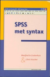 SPSS met Syntax