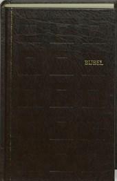 Bijbel huisbijbel nieuwe vertaling kunstleer kleursnede bruin