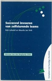 Succesvol invoeren van zelfsturende teams