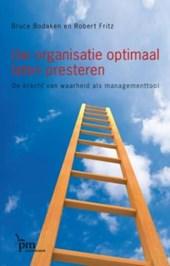 Uw organisatie optimaal laten presteren