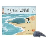 De kleine walvis (incl. vingerpopje)  Uitverkocht, leverbaar zonder vingerpopje op ISBN