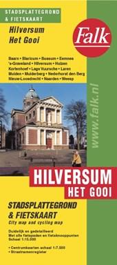 Falk stadsplattegrond & fietskaart Hilversum 't Gooi 2017-2019,