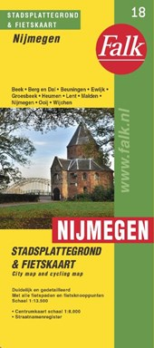 Nijmegen plattegrond