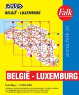 Routiq Belgie / Luxemburg tab map | auteur onbekend |