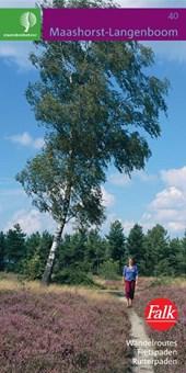 Falk/Staatsbosbeheer wandelkaart 40 Maashorst-Langenboom 3e druk recente uitgave