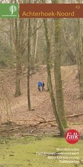 Falk Staatsbosbeheer wandelkaart 43 Achterhoek-Noord 5e druk  editie 2014/2015 met wandelroutes, fietspaden, mountainbike-routes en ruiterpaden