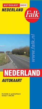 Falk autokaart Nederland basic 2017-2019, 6e druk (wegenkaart)