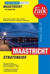 Falk stratengids Maastricht en omgeving easy city 2e druk recente uitgave