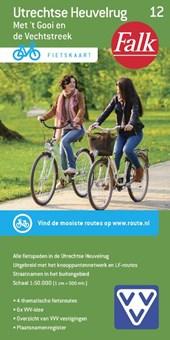 Falk VVV fietskaart 12 Utrechtse Heuvelrug 2017-2018, 12e druk met 't Gooi en de Vechtstreek