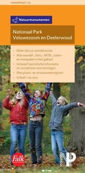 Falk Natuurmonumenten wandelkaart 05 Nationaal Park Veluwezoom en Deelerwoud  2015-2018,