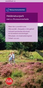 Falk Natuurmonumenten wandelkaart 07 Heidenatuurpark 2015-2017, 2e druk met o.a. Brunssummerheide