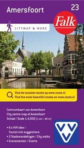 Falk VVV city map & more 23 Amersfoort  inclusief wandelingen door de stad.