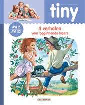 Tiny leren lezen AVI 2: Tiny - 4 Verhalen voor beginnende lezers (blauw) AVI 2 - E3