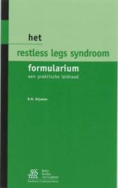 Het Restless Legs Syndroom Formularium 1