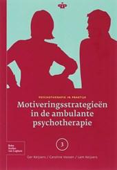 Psychotherapie in Praktijk Motiveringsstrategieen in de ambulante psychotherapie