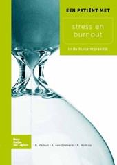 Een patient met stress en burnout