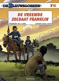 De blauwbloezen 61. de vreemde soldaat franklin (herdruk)   Raoul Cauvin  