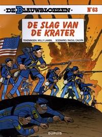 De blauwbloezen 63. de slag van de krater | Raoul Cauvin |