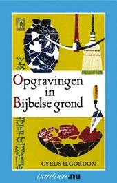 Opgravingen in Bijbelse grond