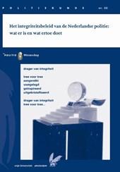 Het integriteitsbeleid van de Nederlandse politie