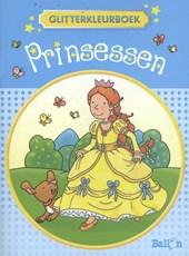 Prinsessen 2 glitterkleurboek