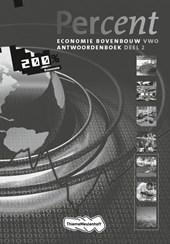 Percent Economie 2e fase 2010 2 VWO Antwoordenboek