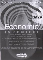 Economie in Context 1 Havo Antwoordenboek