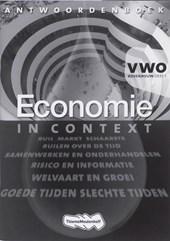 Economie in context VWO bovenbouw Antwoordenboek 1