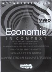 Economie in Context VWO bovenbouw antwoordenboek