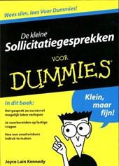De kleine Sollicitatiegesprekken voor Dummies