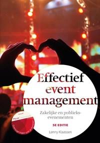 Effectief eventmanagement, 5e editie met MyLab NL toegangscode   Lenny Klaassen  
