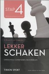Lekker schaken stap
