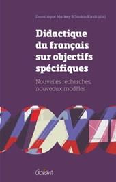 Didactique du français sur objectifs spécifiques