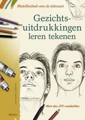 Modellenboek voor de tekenaar- Gezichtsuitdrukkingen leren tekenen
