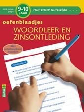 Oefenblaadjes spelling 9-10 jr. Woordleer en zinsontleding