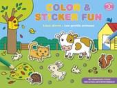 Color & sticker fun - Lieve dieren vanaf 3 jaar
