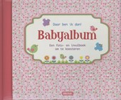Daar ben ik dan! Babyalbum roze