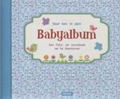 Daar ben ik dan! - Babyalbum blauw