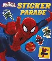 Ultimate spider-man sticker parade
