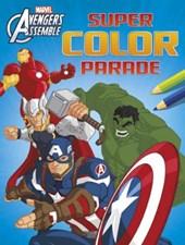 Avengers assemble super color parade